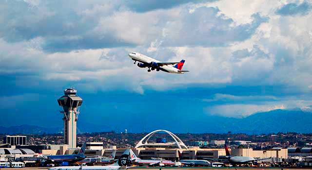 Los Angeles Airport (IATA: LAX) is the busiest airport in California.